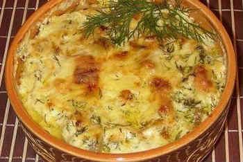 Приготовление блюд в горшочках_курица