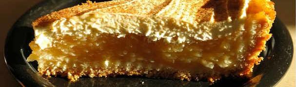 Вкусная выпечка из творога_кусок пирога