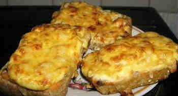 Горячие бутерброды_ с сыром