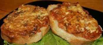 Горячие бутерброды_с томатным соусом