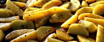 Рецепт картофеля в духовке_как приготовить