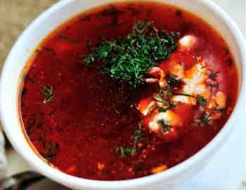 листья молодой свеклы рецепт суп
