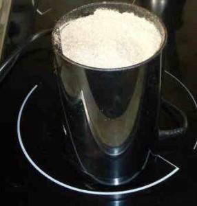 Гречневые оладьи_перемолоть гречку на кофемолке