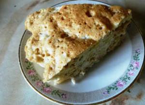 Яблочный пирог в микроволновке_рецепт с фото приготовления