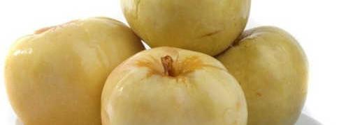 Рецепт моченых яблок антоновка_ яблоки на блюде