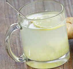 Рецепт имбирного напитка_ в чашке