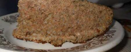 Рецепт печеночного кекса_кусочек