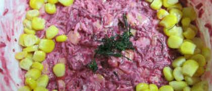Рецепт легкого праздничного салата