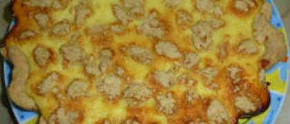 Простой и вкусный пирог с творогом рецепт с фото_готовый