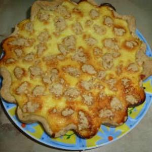 Простой и вкусный пирог с творогом рецепт с фото_приготовление