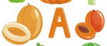 Витамин А в продуктах_овощи и фрукты