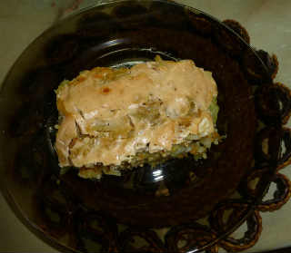 Рецепт капустной запеканки_ с фаршем
