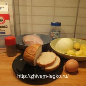 Котлеты из курицы_рецепт