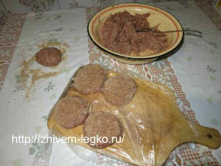 Рецепт котлет из крабовых палочек пошагово с