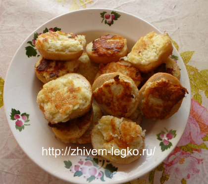 Горячие бутерброды с картошкой_рецепт