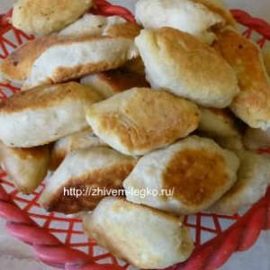 Печеные пирожки рецепт с фото_ готовые