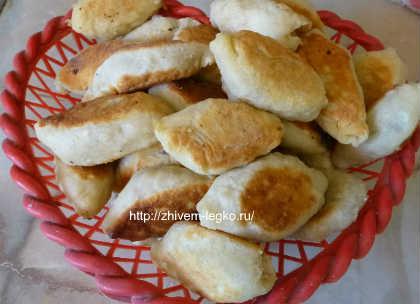 Печеные пирожки рецепт с фото_готовые