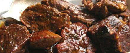 Рецепт говядины, тушенной в пиве_как приготовить
