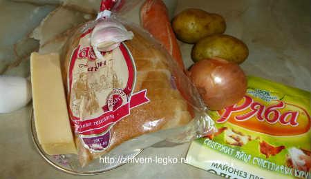 Горячие бутерброды на скорую руку_рецепт