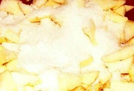 Повидло из яблок на зиму_добавить сахар