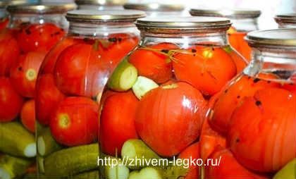 Как закатывать банки правильно_закатываем помидоры