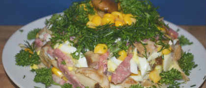 Vkusnyj salat dlja prazdnika