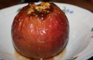 Печеные яблоки в духовке польза и вред_с медом и корицей