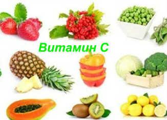 Витамины для кожи лица_витамин С