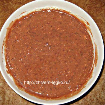 Печёночный торт, рецепт с фото пошагово_жидкое тесто
