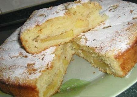 Торт банановый рецепт с фото пошагово