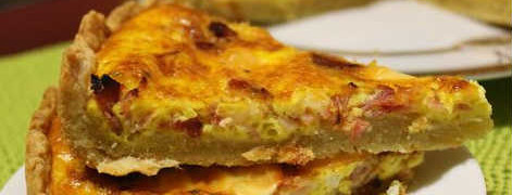 Пирог киш-рецепт с фото_кусочек киша