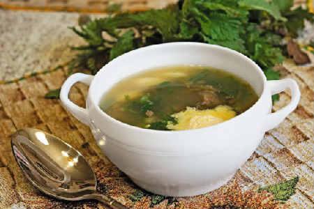 Крапивный суп рецепт_ с яйцом