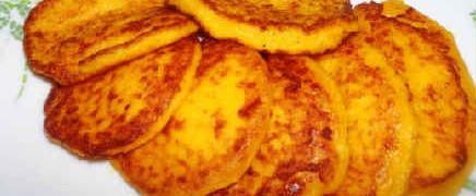 Оладьи из тыквы-рецепт быстро и вкусно