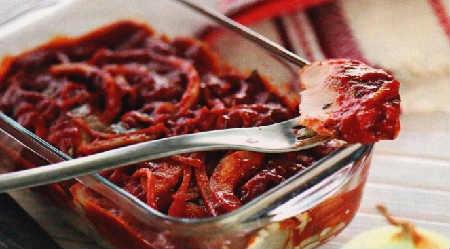 Селедка хе-рецепт по корейски_выложить селедку слоями
