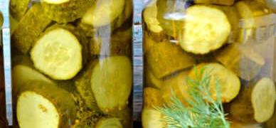 Огурцы маринованные с горчицей в зернах_рецепт
