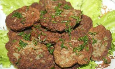 Печеночные оладьи из говяжьей печени рецепты_приготовление