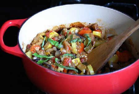 Рататуй рецепт с фото пошагово в духовке_приготовление в кастрюле