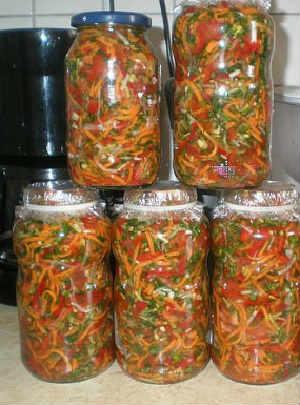Заправки для супов на зиму в банках_из овощей