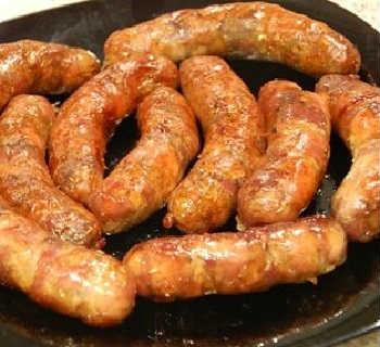 Колбаса домашняя самый вкусный рецепт_запекание