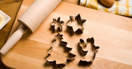 Новогоднее печенье с глазурью рецепт с фото_формочки