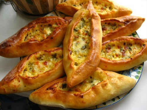 Сырные лепешки в духовке рецепт_с фото