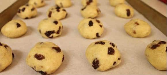 Быстрое печенье в духовке рецепт с фото_ на противене