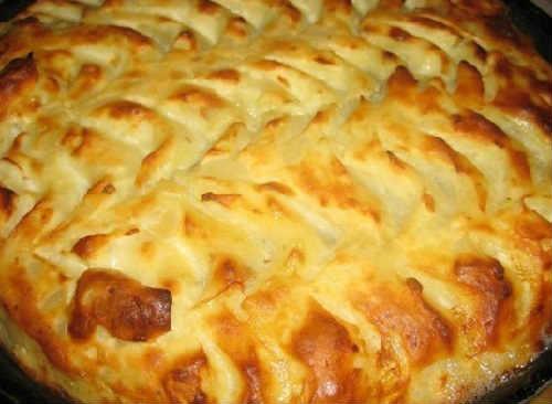 Как можно сделать картофельную запеканку
