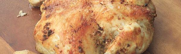 Как вкусно запечь курицу в духовке целиком_с корочкой