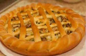 Грибной пирог_как приготовить