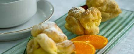 Рецепты пирожных_домашние эклеры