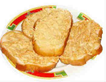 Горячие бутерброды_ сыром и яблоком
