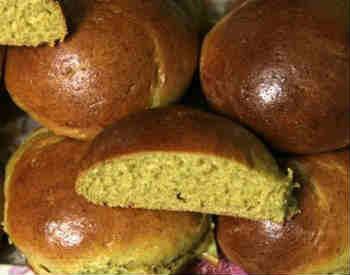 Вкусные булочки_с тыквой