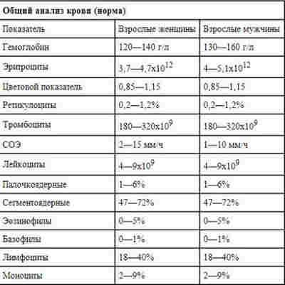 Как правильно сдать анализы_расшифровка крови