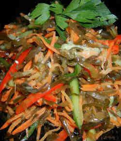 Свойства морской капусты_салат
